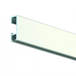 Bílá Nástěnná lišta Click Rail, 300 cm