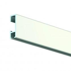 Bílá nástěnná lišta Click Rail, 150 cm