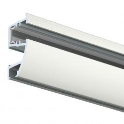 Nástěnná lišta Combi Rail Pro Light, bílá - 300 cm