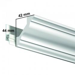 Krycí dekorační lišta Deco Rail Basic - 200 cm