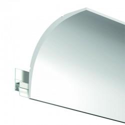 Krycí dekorační lišta Deco Rail Modern - 200 cm