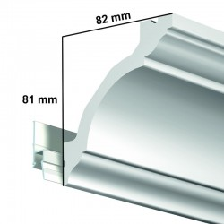 Krycí dekorační lišta Deco Rail Classic - 200 cm