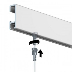Instalace lišty Click Rail